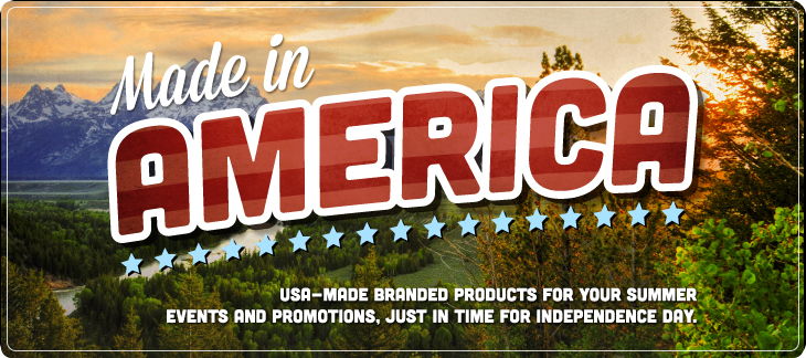 Flat World Design is your choice for promotional products Made in America