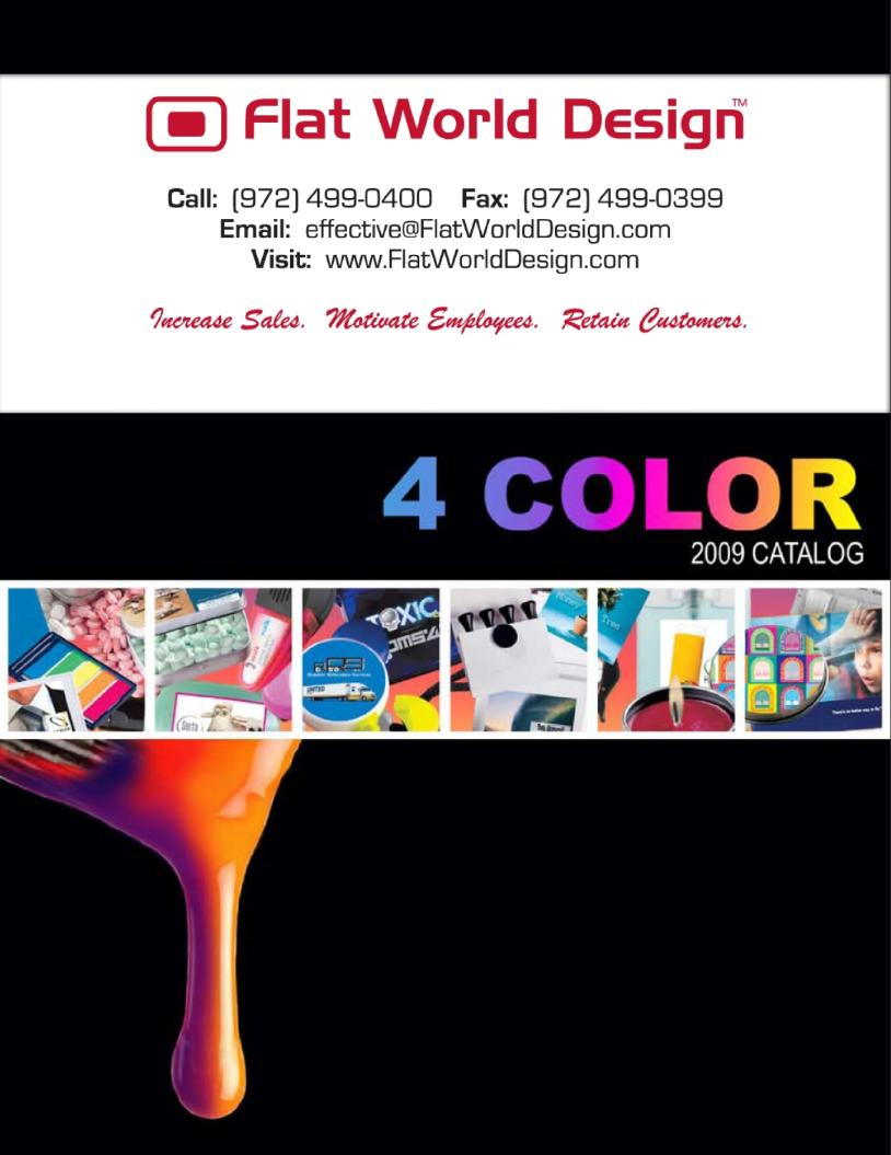 Four Color Imprinted Products