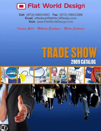 Flat World Design - Tradeshow - Flipper Catalog