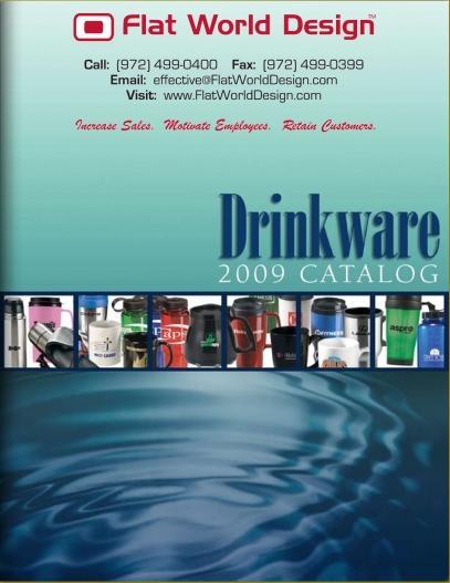 Flat World Design - Drinkware - Flipper Catalog