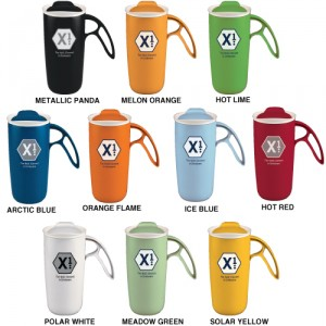 Brand building tool.  An exceptional insulated mug at an exceptional price.  With exceptional marketing ideas included.