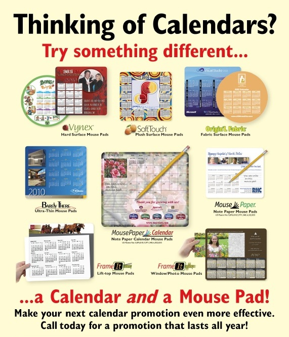Thinking of Calendars?