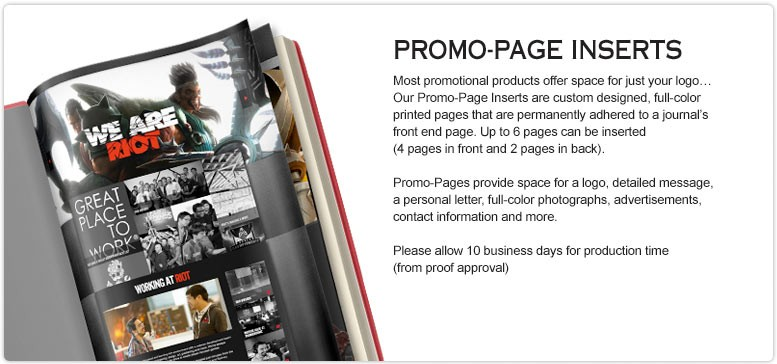 Customized-Promotional-Books-Promo-Page-Insert-Option