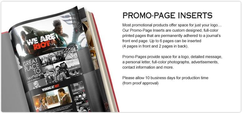 Customized-Promotional-Books-Promo-Page-Insert-Option